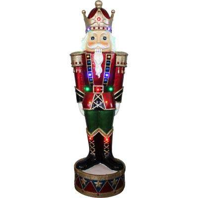 36 in. Christmas Nutcracker Greeter with Lights