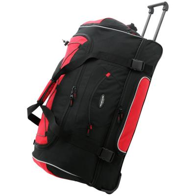 36 in. 2-Section Drop-Bottom Rolling Duffel w/Blade Wheels
