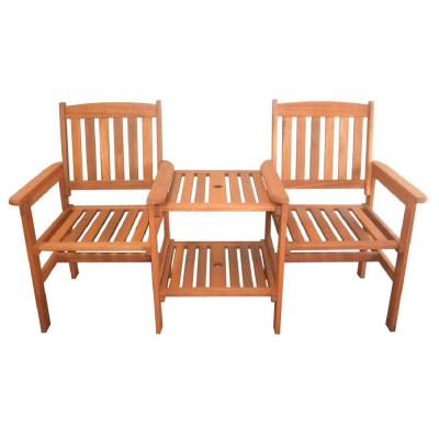 Elwood 2-Person Wood Outdoor Bench