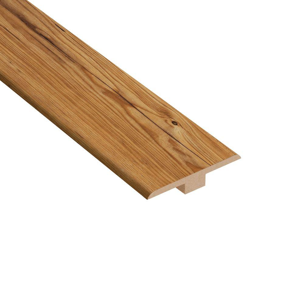 Home Legend Mission Pine 1/4 in. Thick x 1-7/16 in. Wide x 94 in. Length Laminate T-Molding