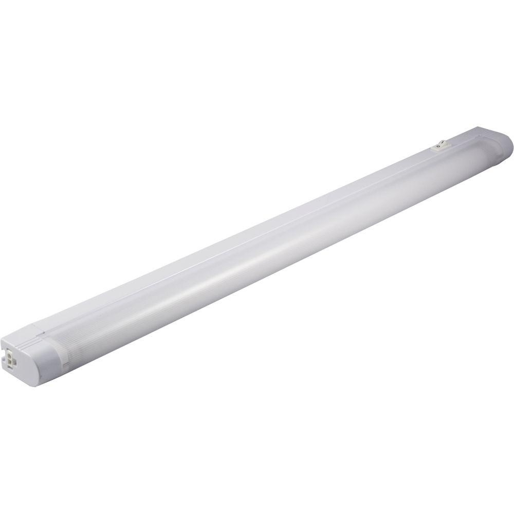 Fluorescent Light Fixtures Home Depot: GE Slim Line 23 In. Fluorescent Light Fixture-10169