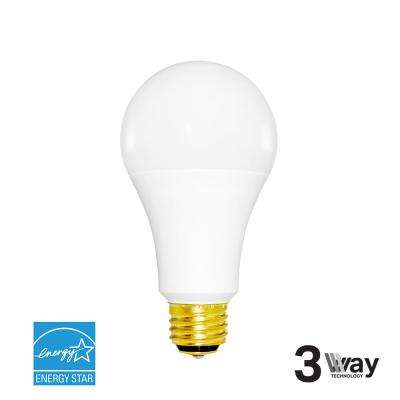 40W/60W/100W Equivalent Cool White A21 3-Way Dimmable LED Light Bulb
