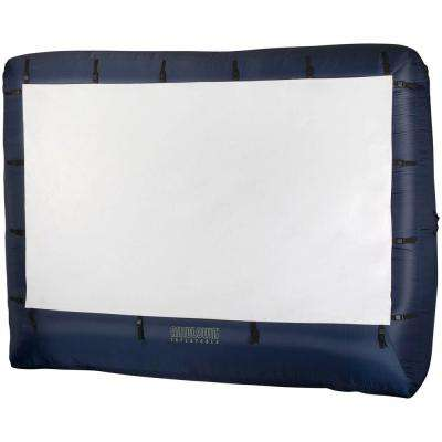 12 ft. W x 9 ft. H Inflatable Movie Screen Air Blown