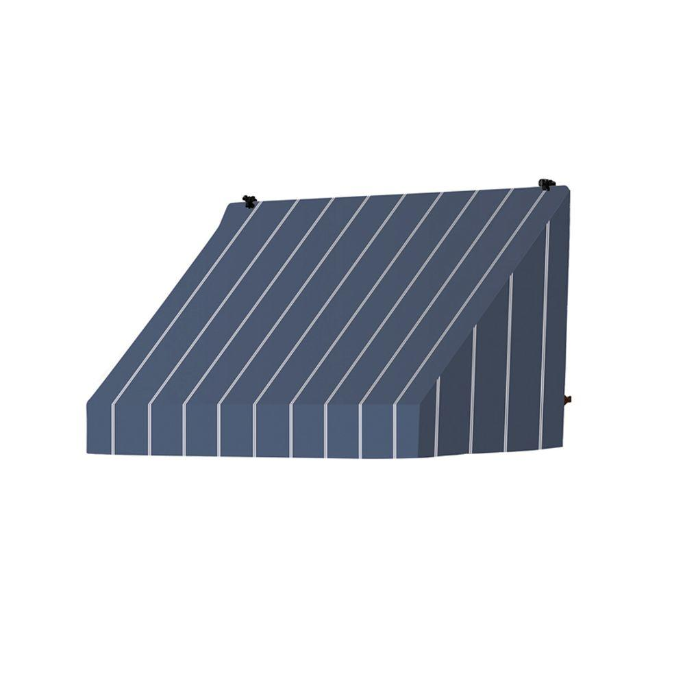 Awnings in a Box 4 ft. Classic Manually Retractable Awning (26.5 in. Projection) in Tuxedo