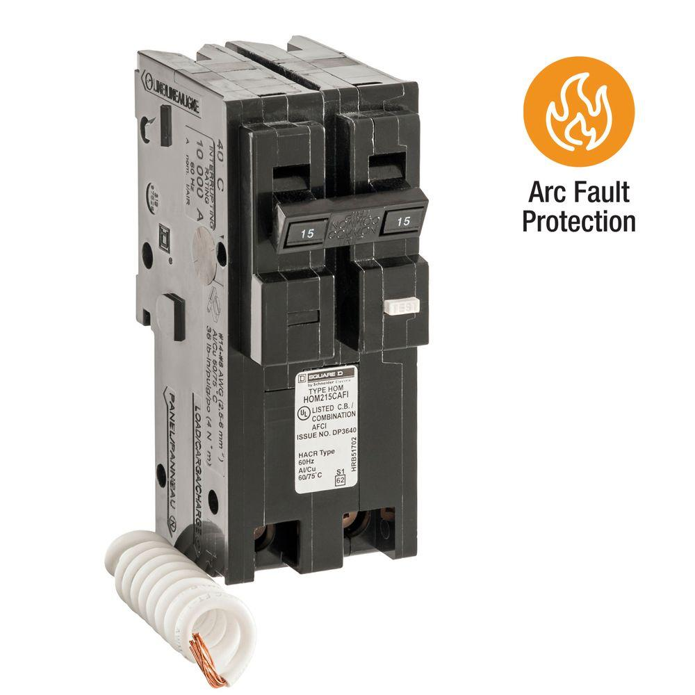Square D QO 20 Amp 3-Pole Plug-In Circuit Breaker-QO320CP - The Home ...