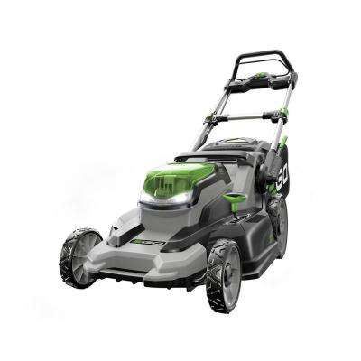 20 in. 56-Volt Lithium ion Cordless Push Mower with 5.0Ah Battery and Charger Included
