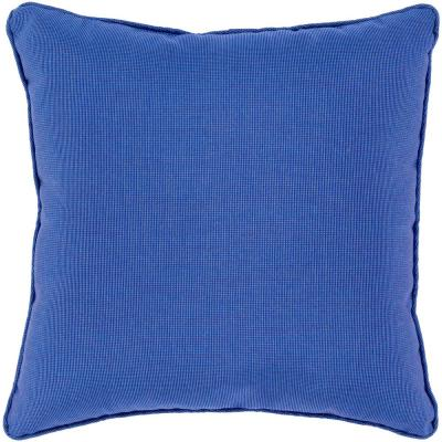 Laredo Purple Solid Polyester 20 in. x 20 in. Throw Pillow