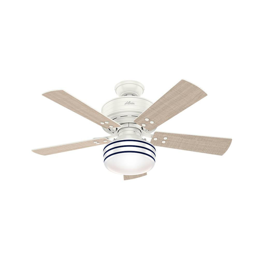 Middleton 42 In Indoor White Ceiling Fan With Light Kit