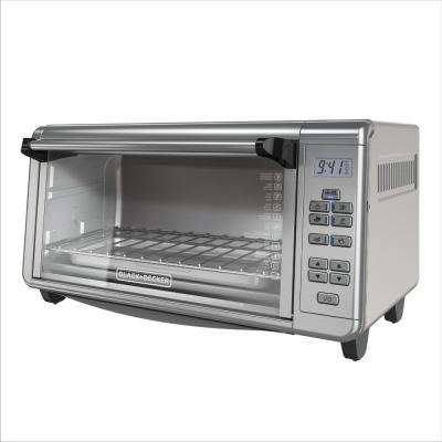 8-Slice Digital Extra-Wide Countertop Convection Stainless Steel Toaster Oven
