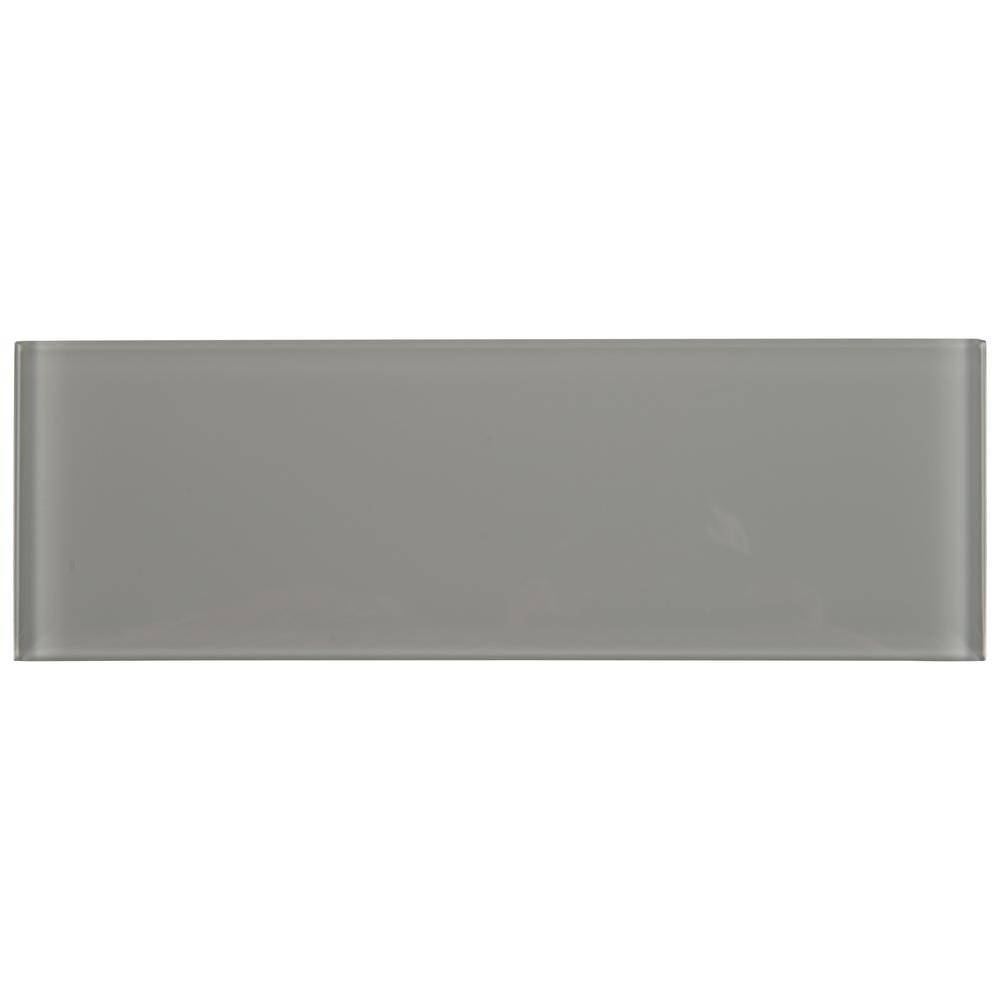 Msi Oyster Gray 4 In X 12 Gl Wall Tile 5 Sq Ft Case