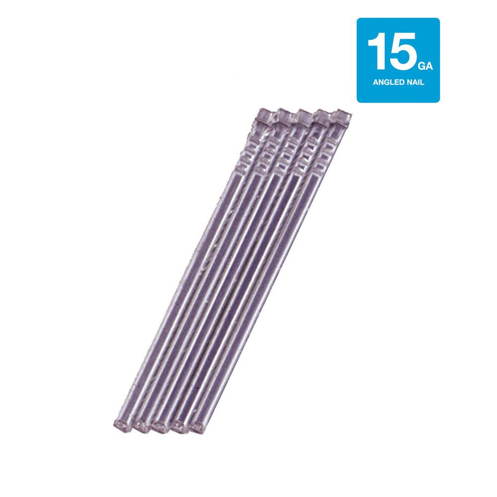 Grip-Rite 2-1/2. x 15-Gauge Angled Finish Nails (3,650 per Pack ...