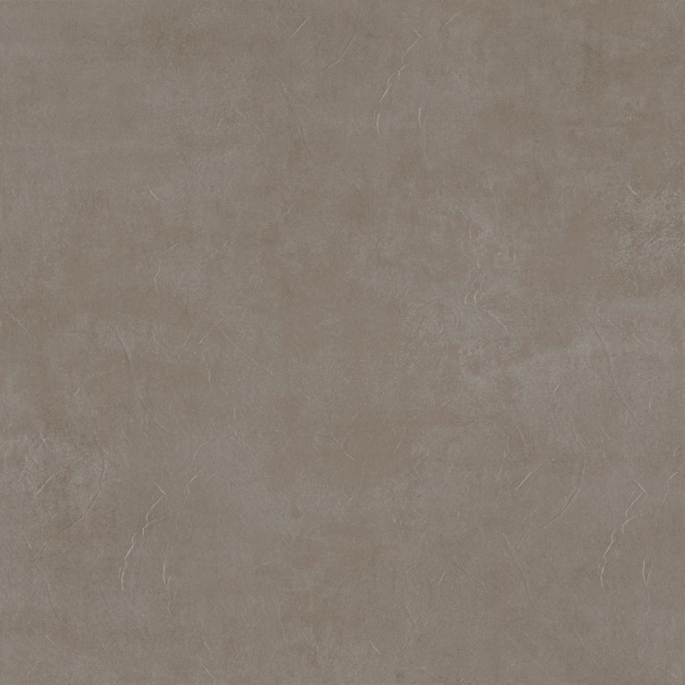 Trafficmaster Groutable 18 In X 18 In Taupe Cotto Peel