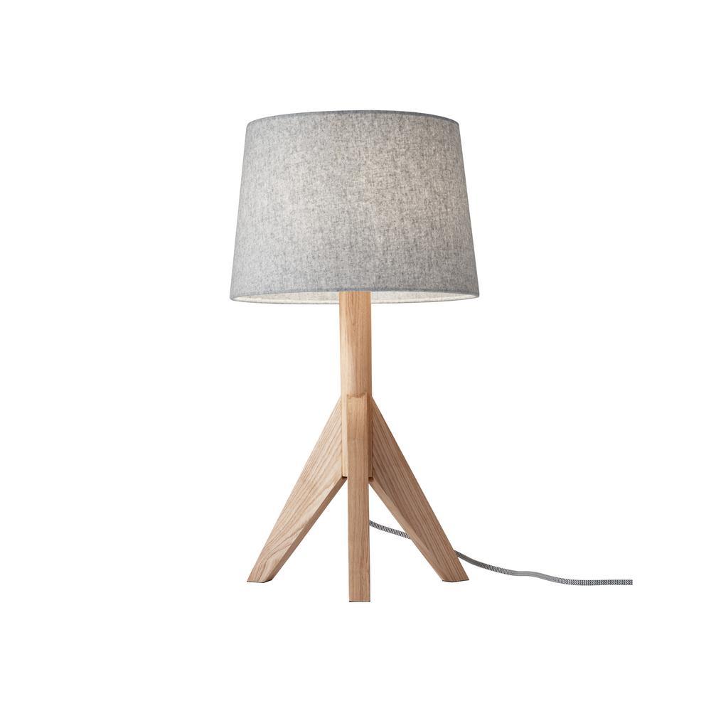 24.5 in. Beige Eden Table Lamp