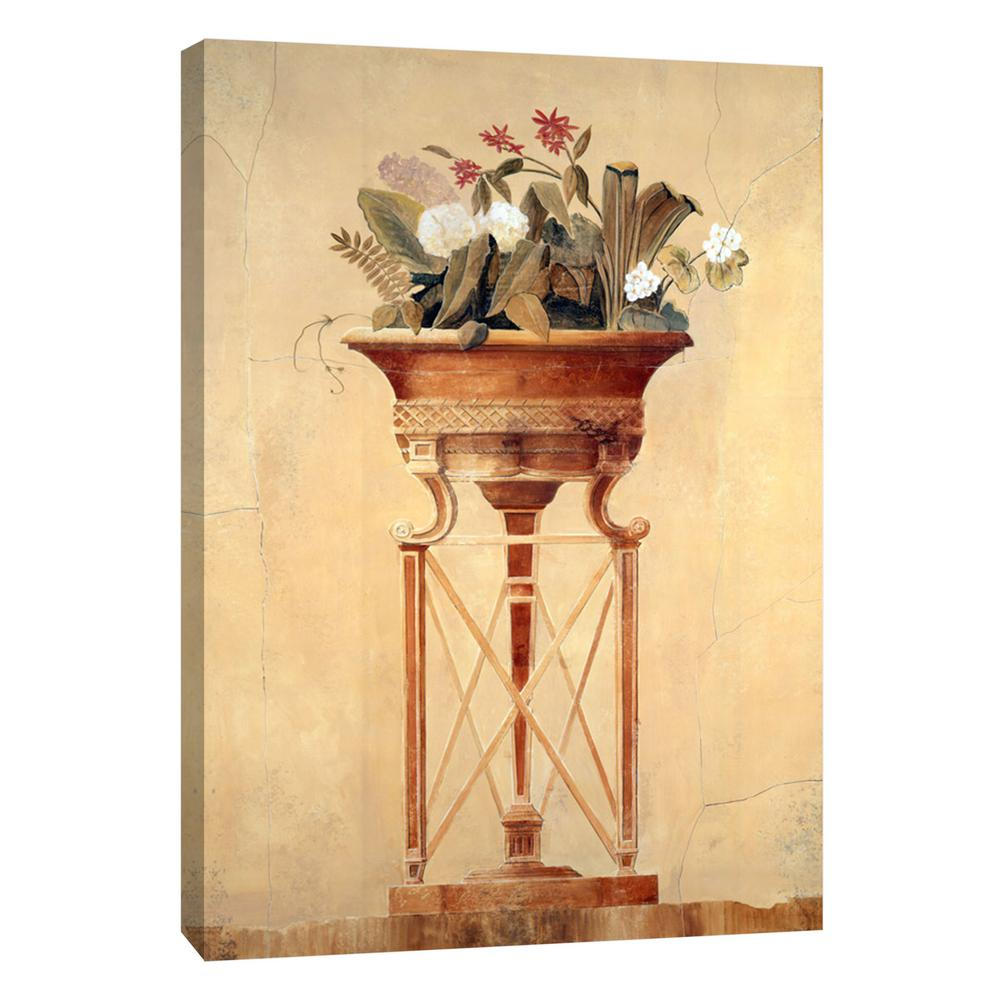 PTM Images 12.in x 10.in \'\'Floral Empire I\'\' Printed Canvas Wall Art ...
