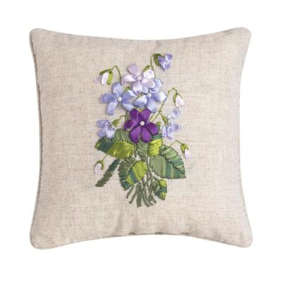 16 in. x 16 in. Violet Pillow