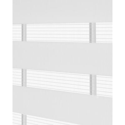 Celestial Light Filtering Linen Cordless Double Layered Privacy Roller Shade