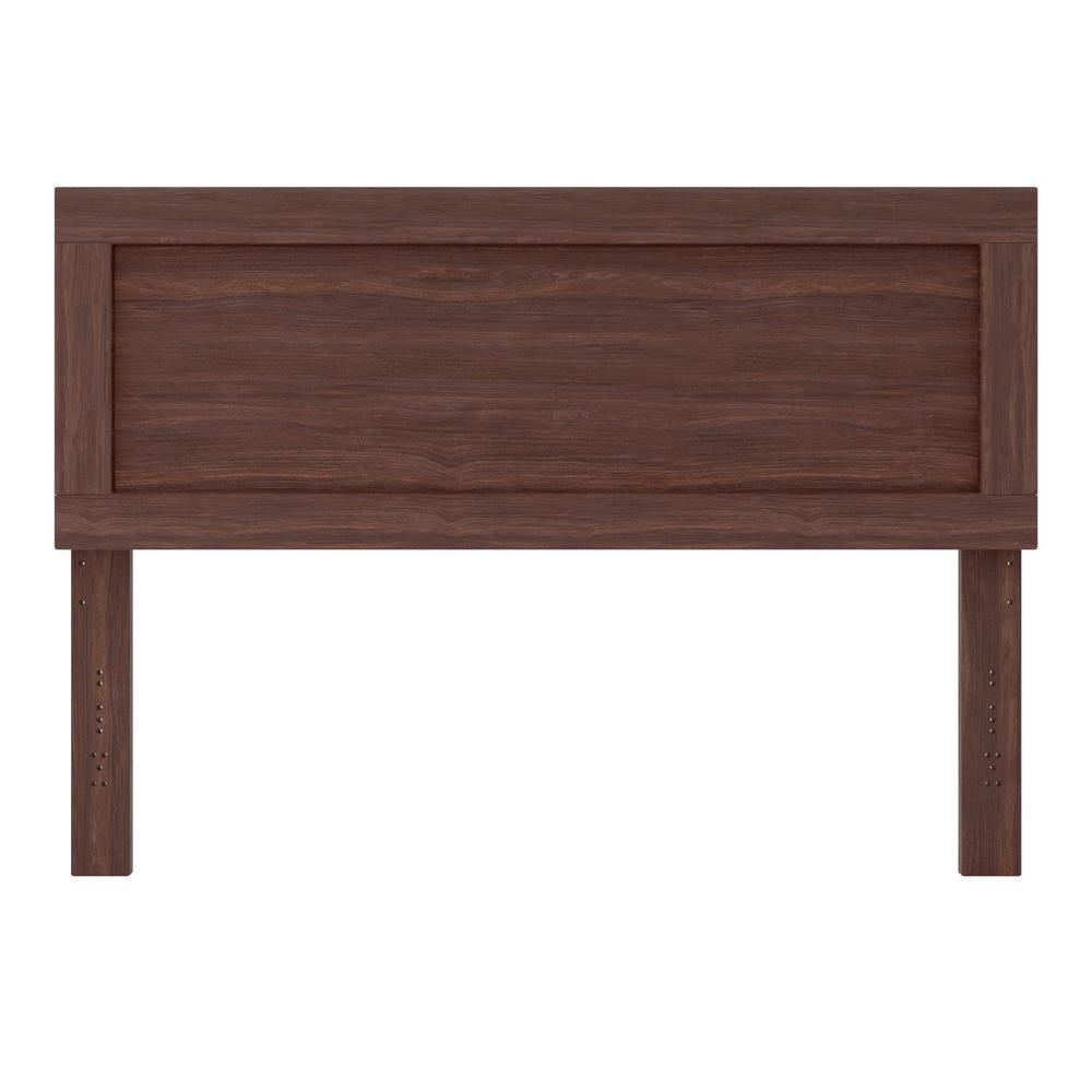 Leah Rustic Mahogany Twin/Twin XL Classic Wood Headboard
