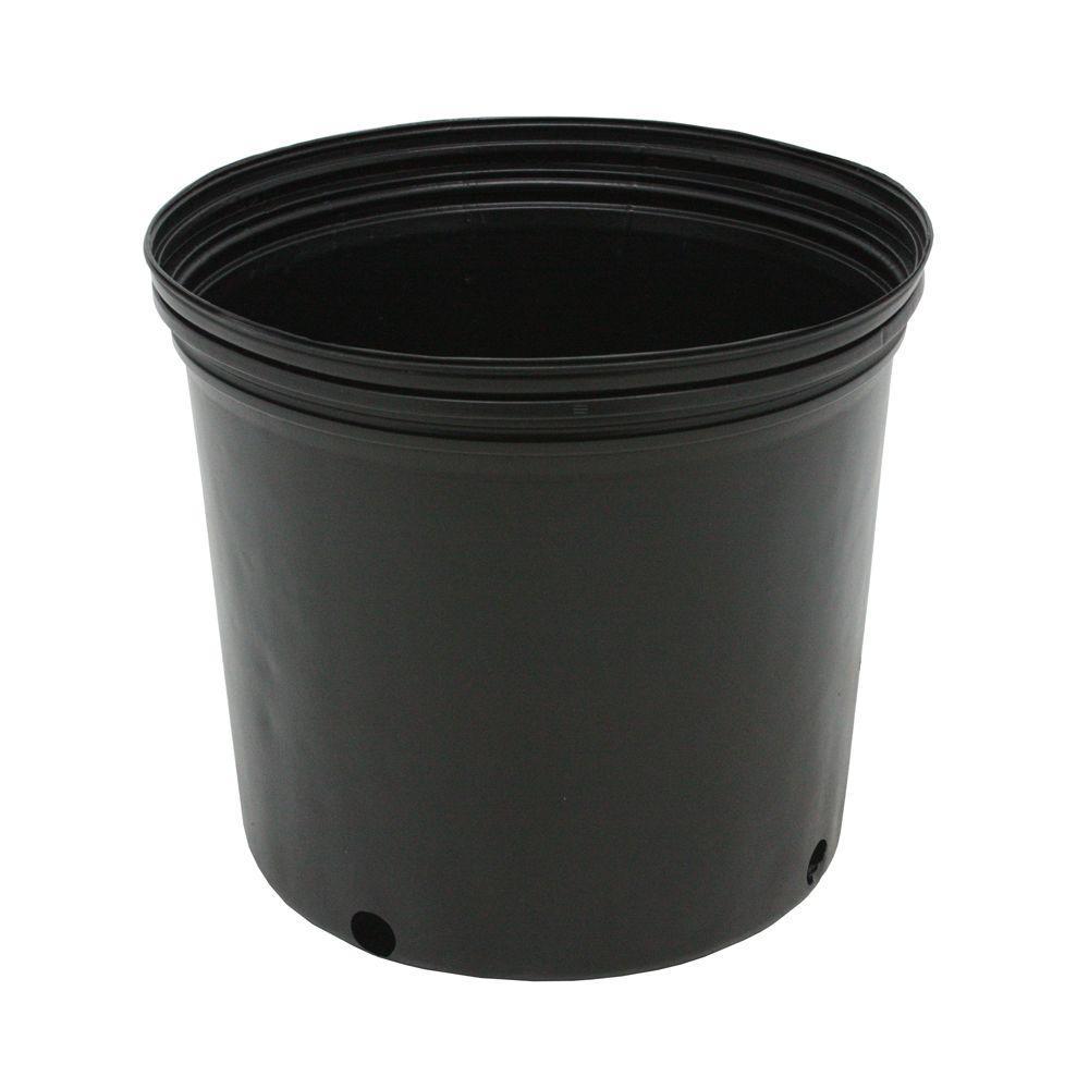3 Gal. Plastic Nursery Pots (11.36 l) 10-Pack