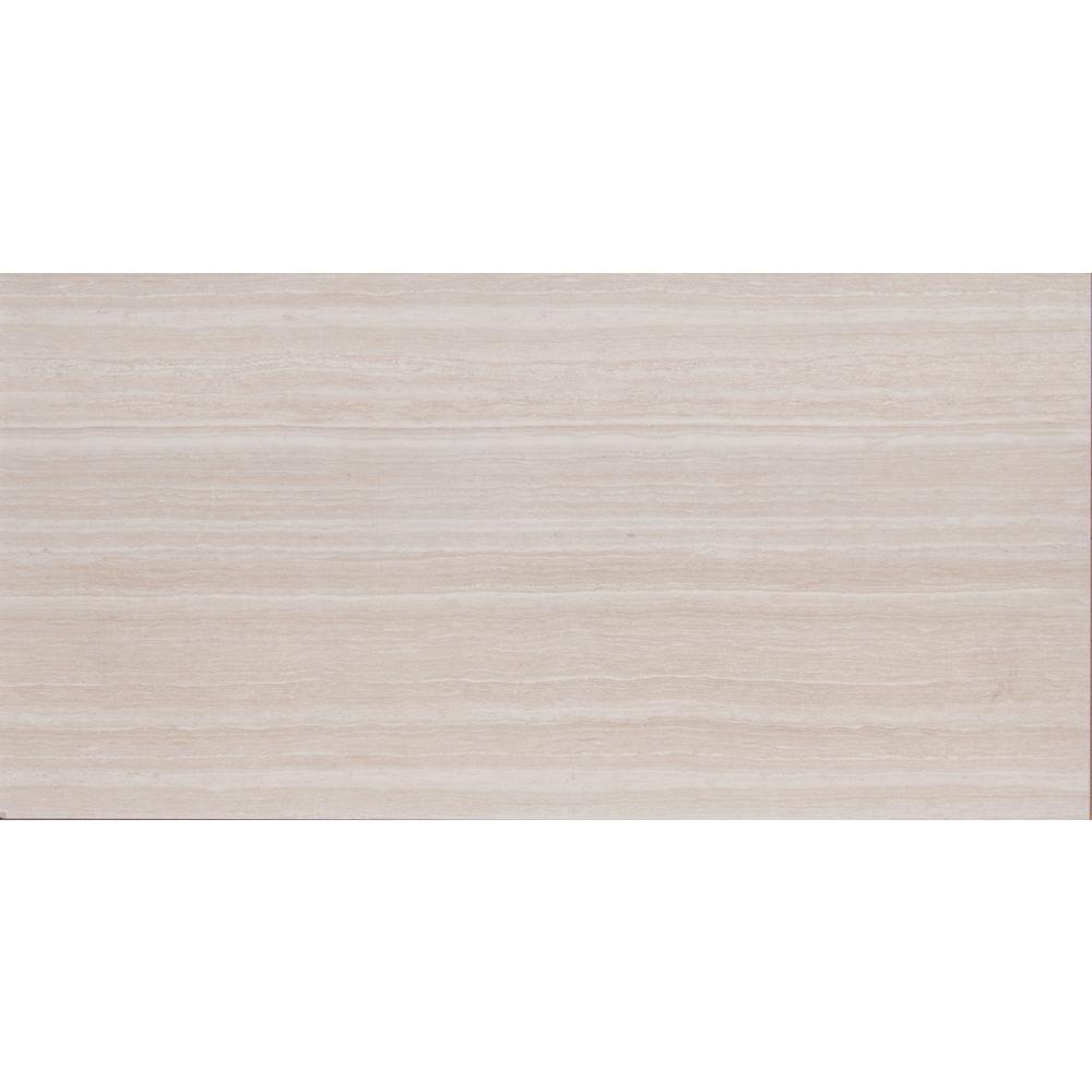 Msi Rimini Gris 12 In X 24 In Glazed Ceramic Floor And