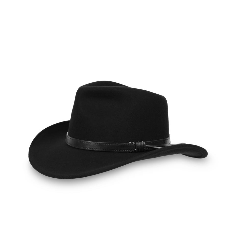 8c3a17ff17258 Sunday Afternoons Unisex Medium Raven Montana Felt Hat ...