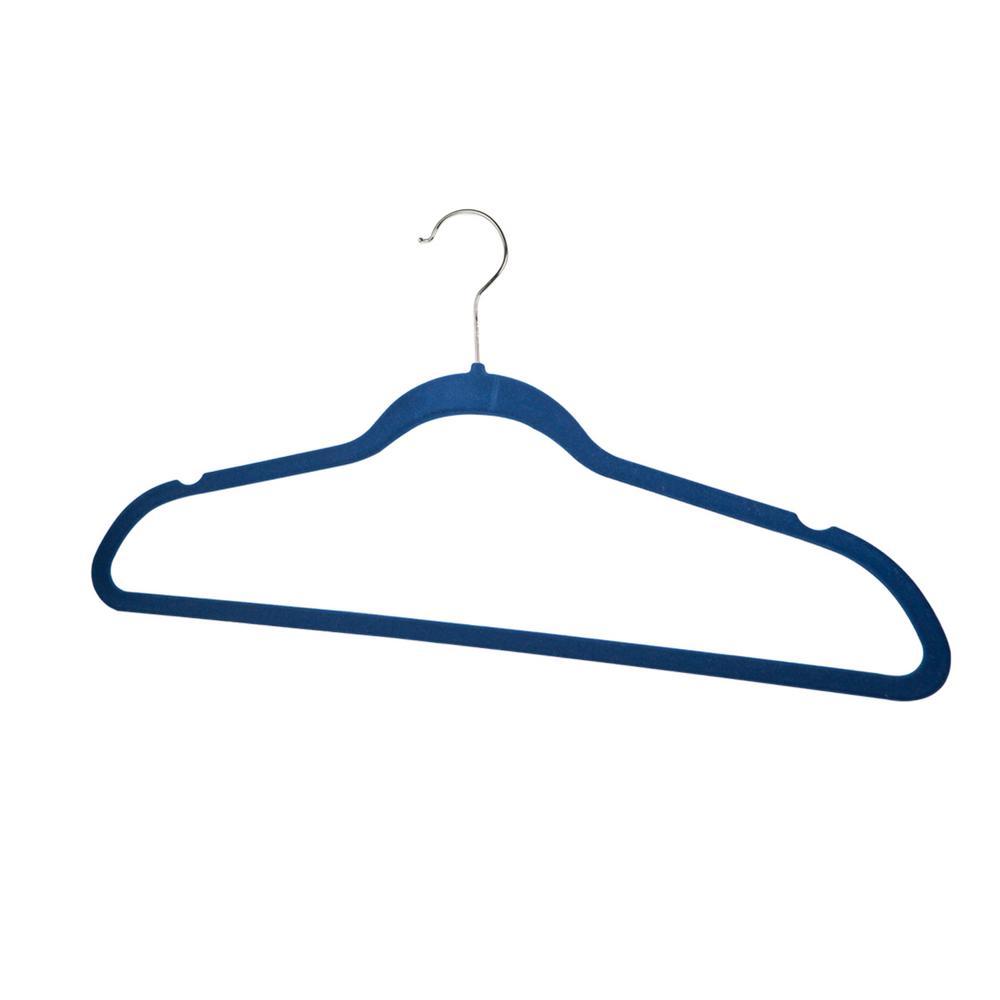 Navy Velvet Hanger (10-Pack)