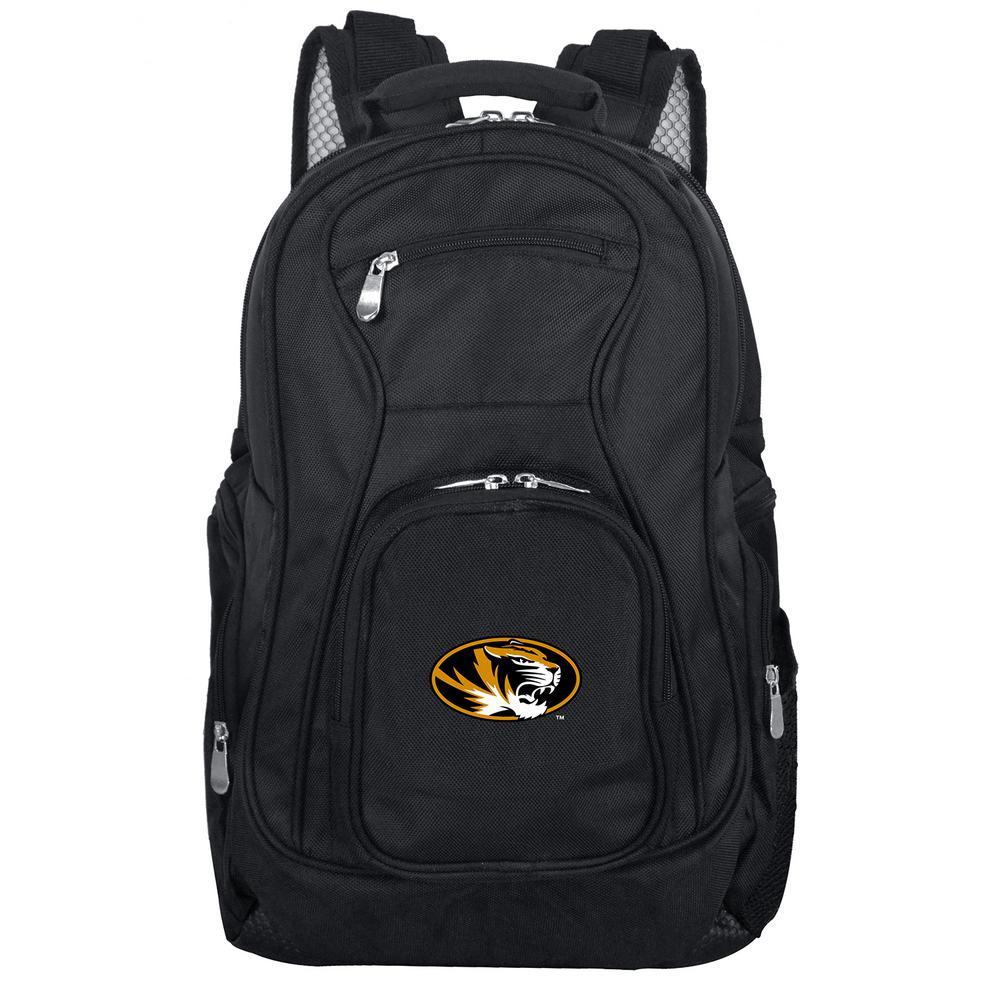 NCAA Missouri Black Backpack Laptop
