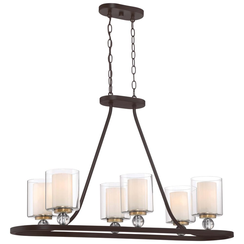Minka Lavery Studio 5 Collection 6 Light Painted Bronze