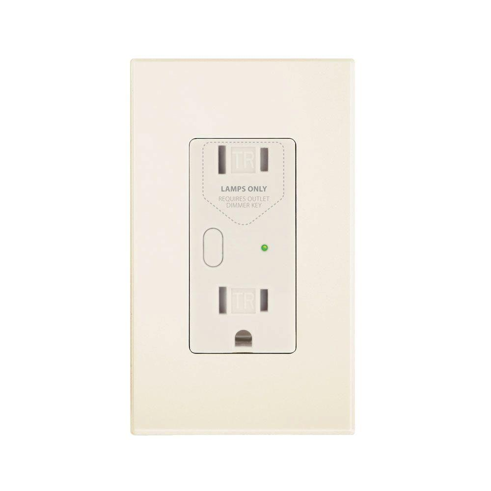 Insteon OutletLinc 2.5 Amp Duplex Outlet, Almond