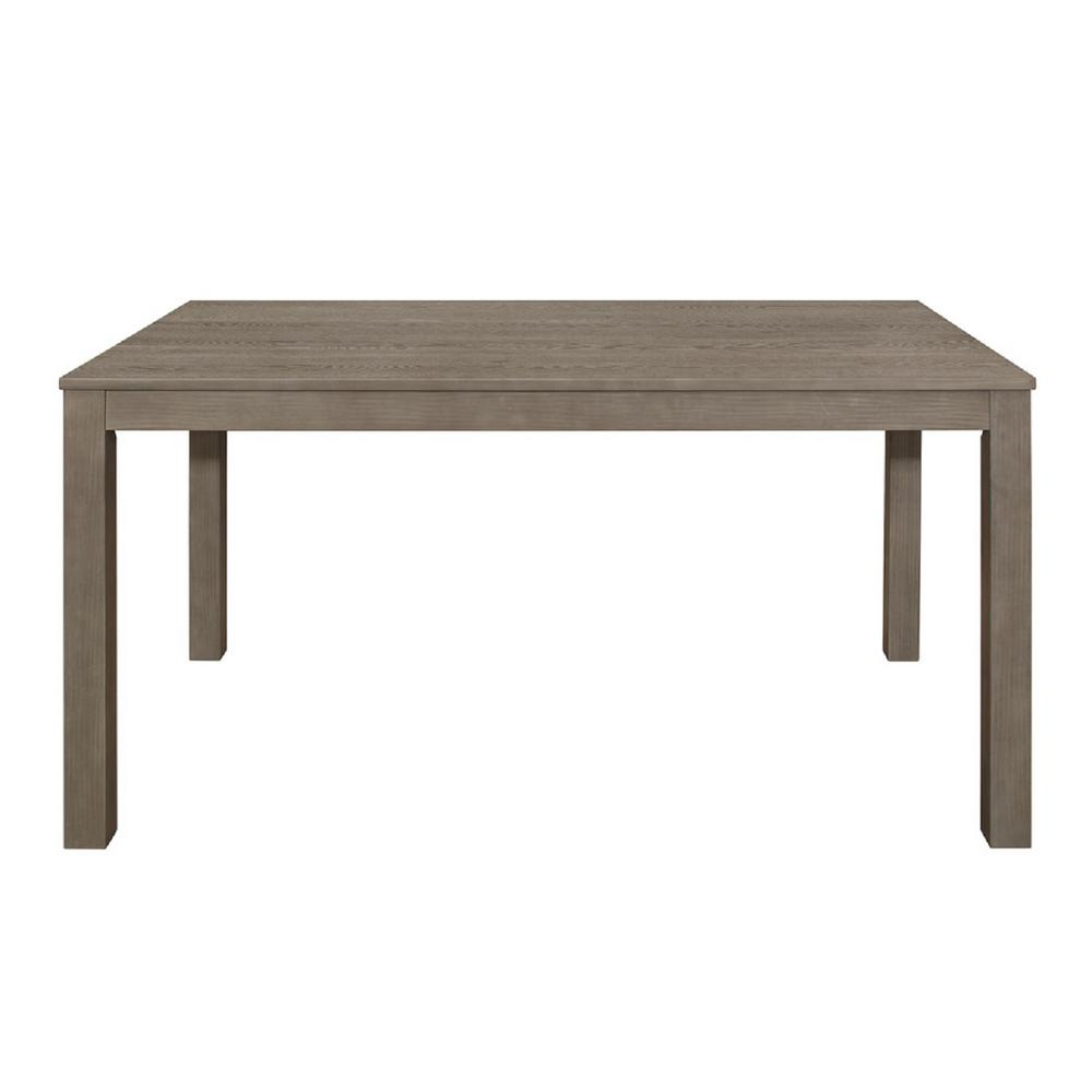Walker Edison Furniture Company Aged Grey In Homestead Wood - Aged wood dining table