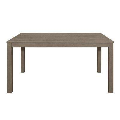 Aged Grey 60 in. Homestead Wood Dining Table