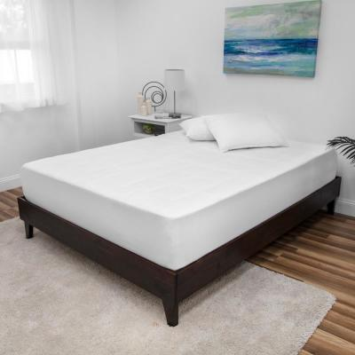 Euro Majestic 1in. California King Memory Foam Washable Mattress Pad