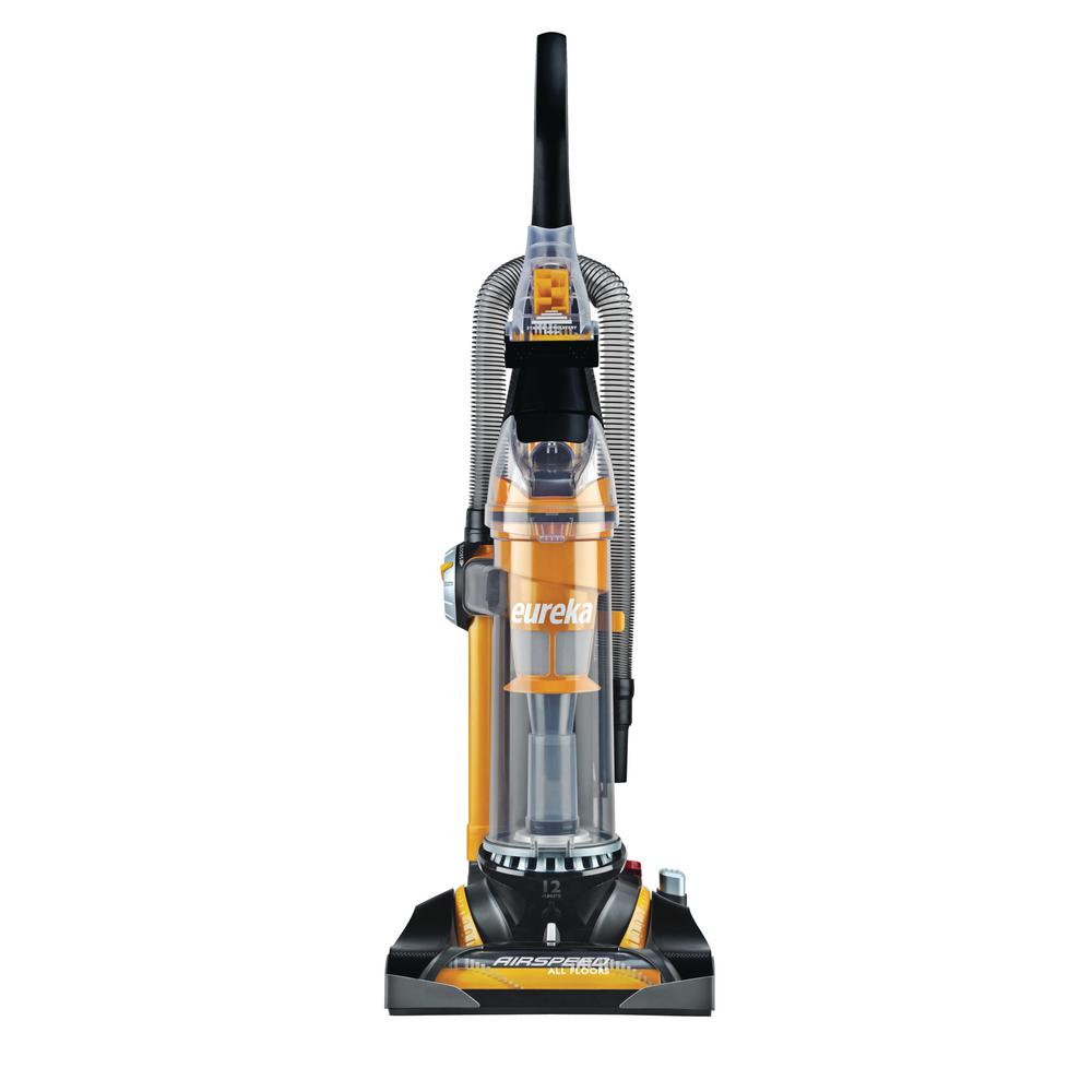 eureka airspeed all floors bagless upright vacuum cleaner