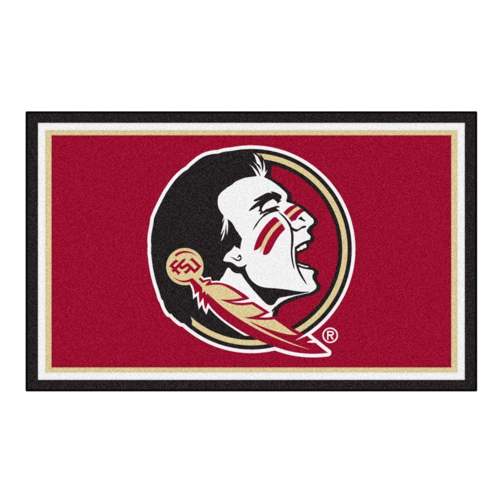FANMATS Florida State University 4 ft. x 6 ft. Area Rug