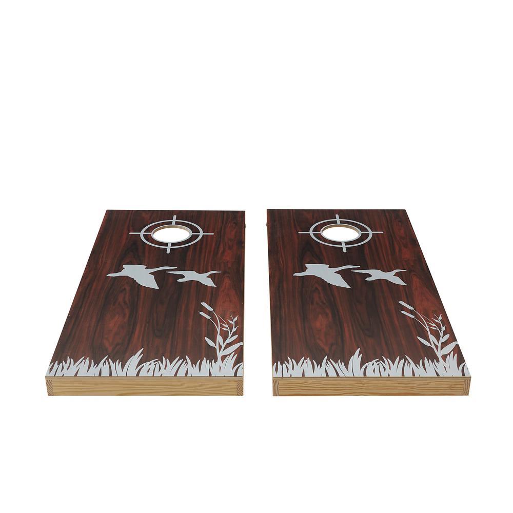 Lake Life Wood Cornhole Set