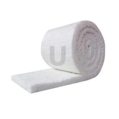 Ceramic Fiber Insulation Blanket Roll, (8# Density, 2300°F)(1in.x48in.x25ft.) for Kilns, Ovens, Furnaces, Forges, Stoves