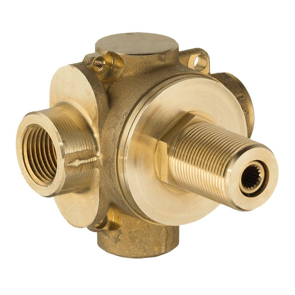 American Standard 1/2 in. 2-Way In-Wall Rough Diverter Valve