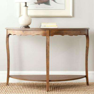 Christina Firewood Console Table