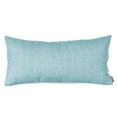 Sterling Blue Breeze Kidney Decorative Pillow