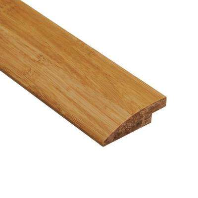 Strand Woven Wheat 9/16 in. Thick x 2 in. Wide x 78 in. Length Bamboo Hard Surface Reducer Molding