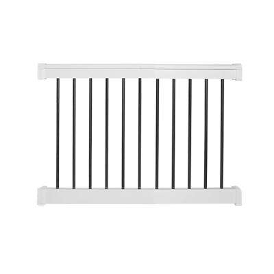 Bellaire 3 ft. H x  4 ft. W White Vinyl Railing Kit