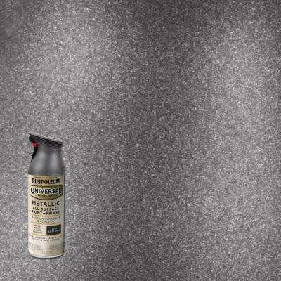 11 oz. All Surface Metallic Soft Iron Spray Paint and Primer in One