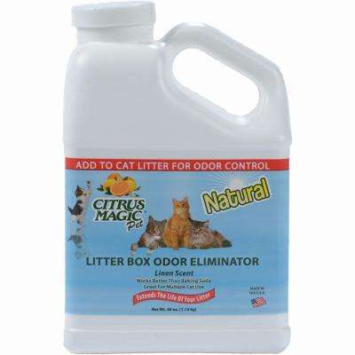40 oz. Pure Linen Litter Box Odor Eliminator