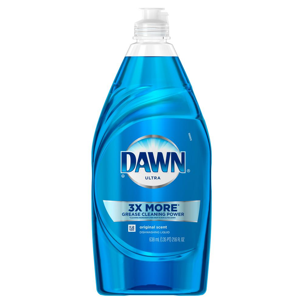 Dawn Ultra 21 6 Oz Original Scent Dish Soap 003700091544 The