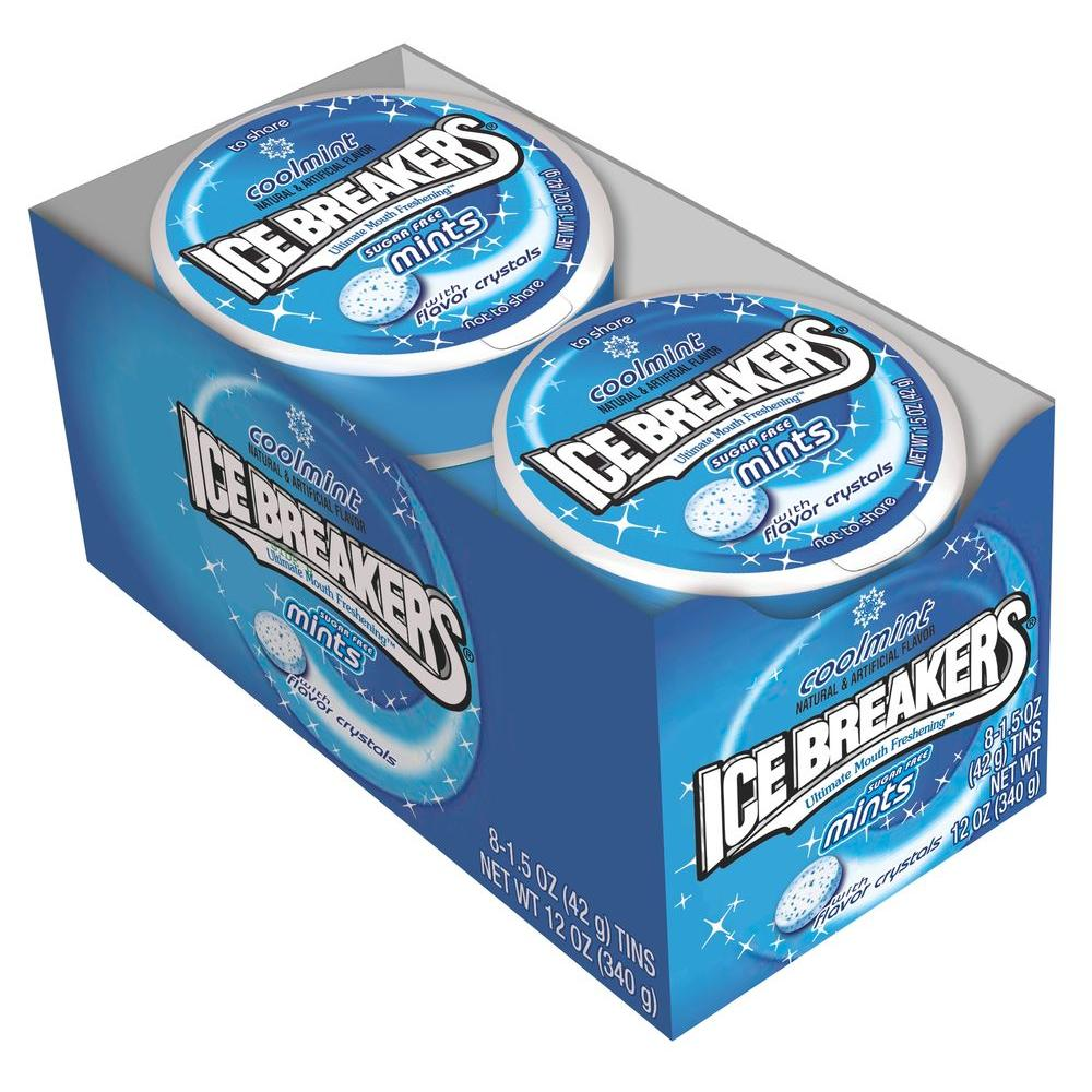 Ice Breakers Cool Mint Tin 1.5 oz. (8-Pack)