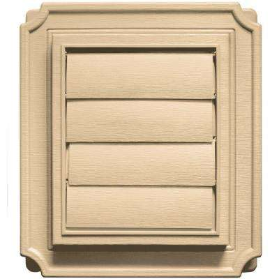 Scalloped Exhaust Siding Vent #045-Sandstone Maple