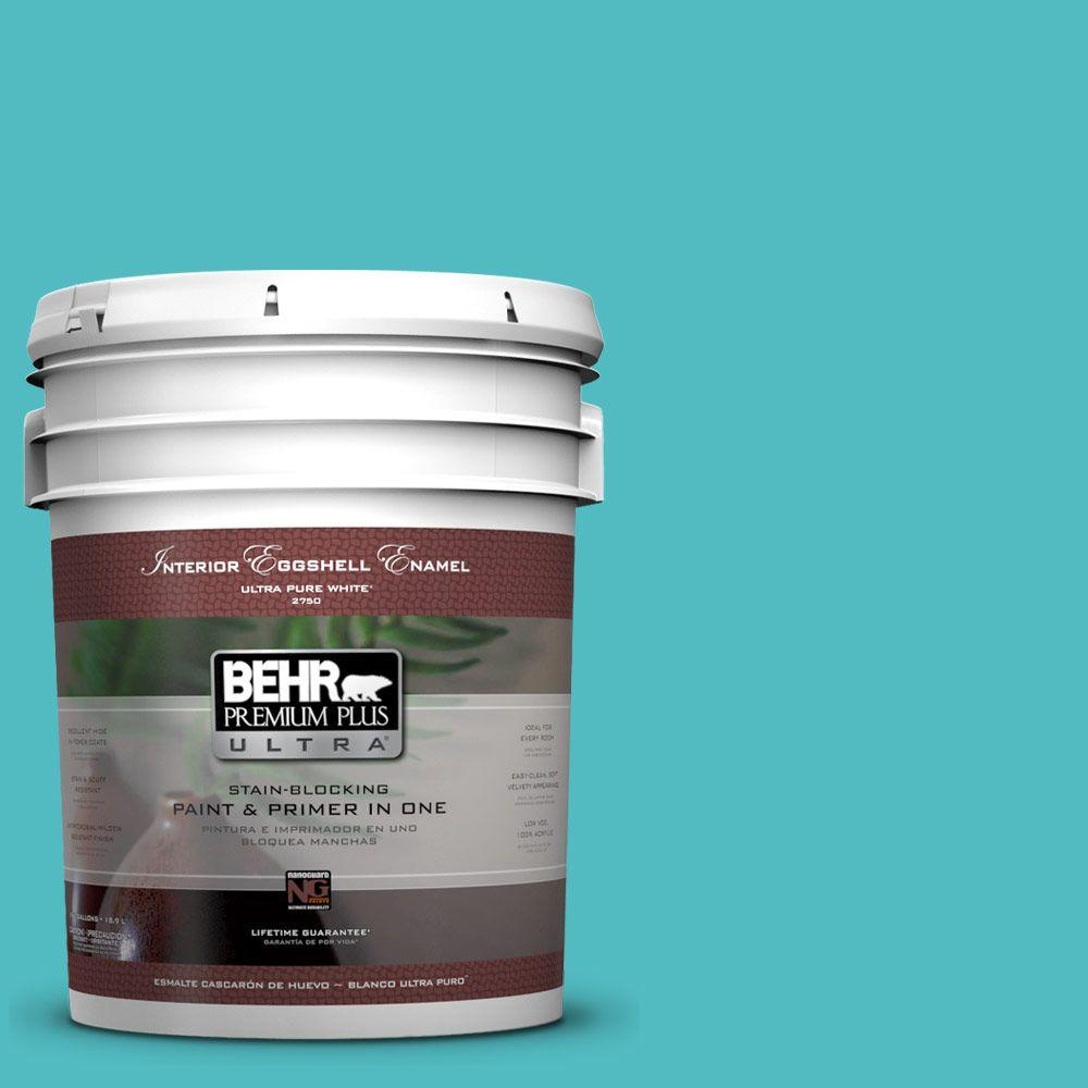 BEHR Premium Plus Ultra Home Decorators Collection 5-gal. #HDC-WR14-6 North Wind Eggshell Enamel Interior Paint