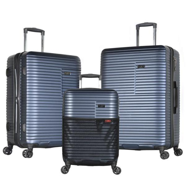 Olympia USA Taurus 3-Piece PC/ ABS Expandable Hardcase Spinner with TSA Lock