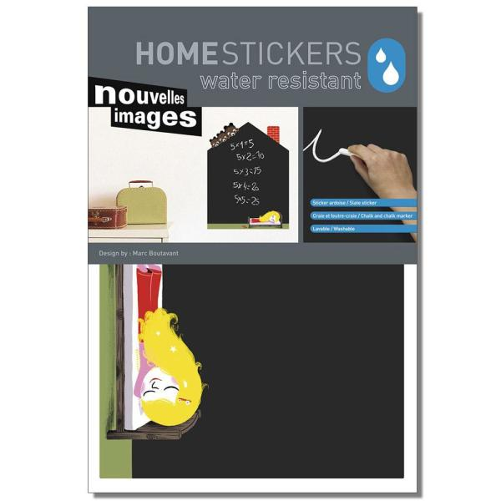 Nouvelles Images Multicolor Birdy Height Gauge Home Sticker HOST 079