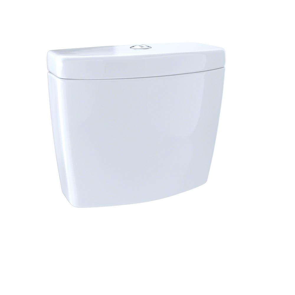 TOTO Aquia II 0.9/1.6 GPF Dual Flush Toilet Tank Only in Cotton ...