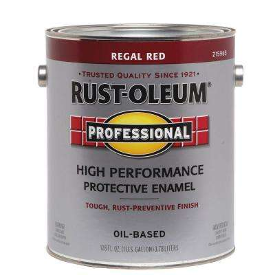 1 gal. Regal Red Gloss Protective Enamel (Case of 2)